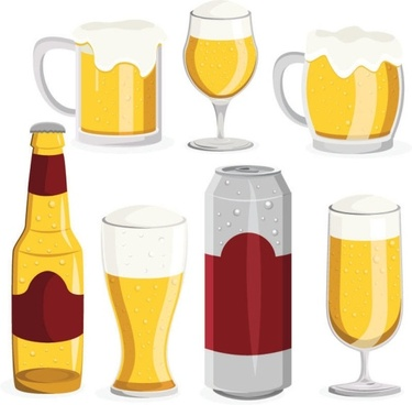 Beer clipart alcohol. Glass vector free download