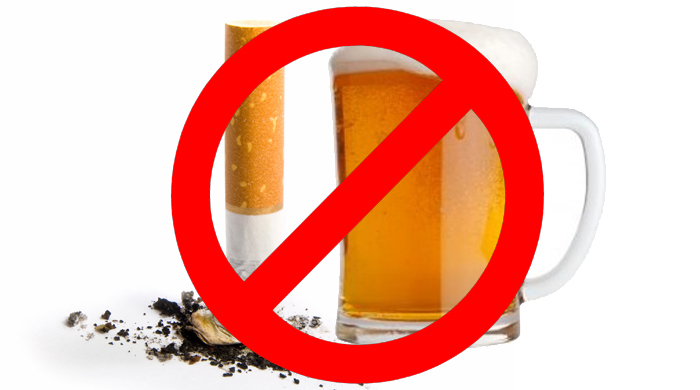 Alcohol clipart alcohol intake. Lower cholesterol stop smoking