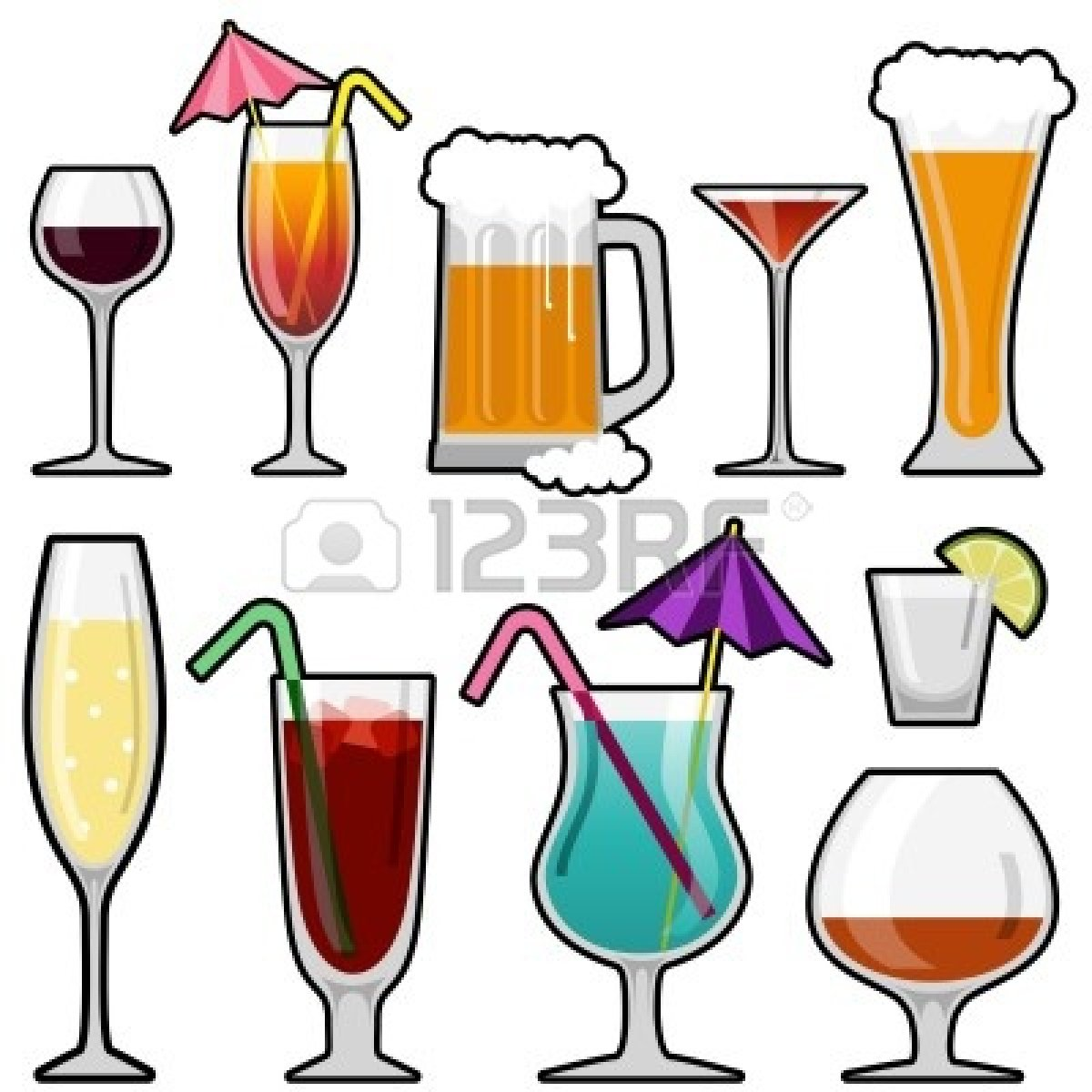 Drinks . Alcohol clipart alcoholic beverage
