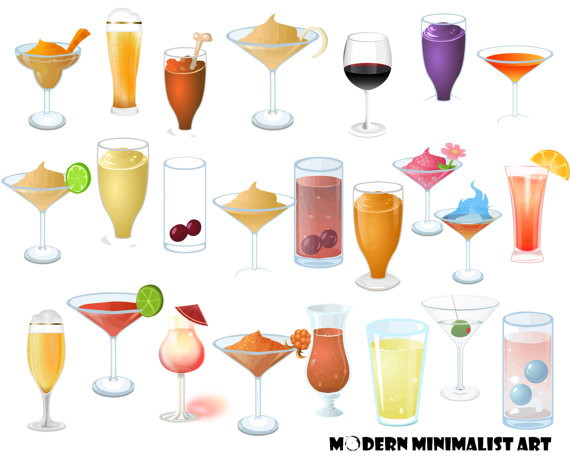 pngs drinks beverages. Champaign clipart alcoholic drink