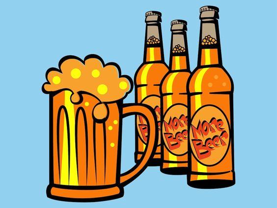 Beer clipart alcoholic beverage. Barril cerveza clip art