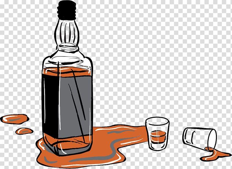 Alcohol clipart alcoholic drink. Liquor bottle illustration whiskey