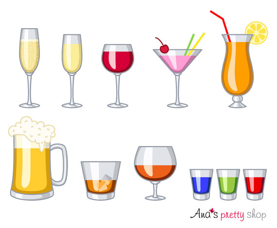 Glasses drinks wine glass. Alcohol clipart alcoholic drink