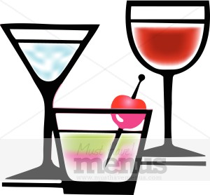 . Alcohol clipart alcoholic drink