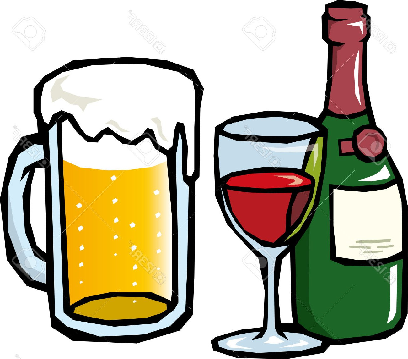 Alcohol clipart beer, Alcohol beer Transparent FREE for download on WebStockReview 2019
