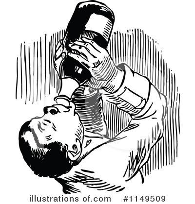 Alcohol clipart black and white. Rf alcoholic panda free