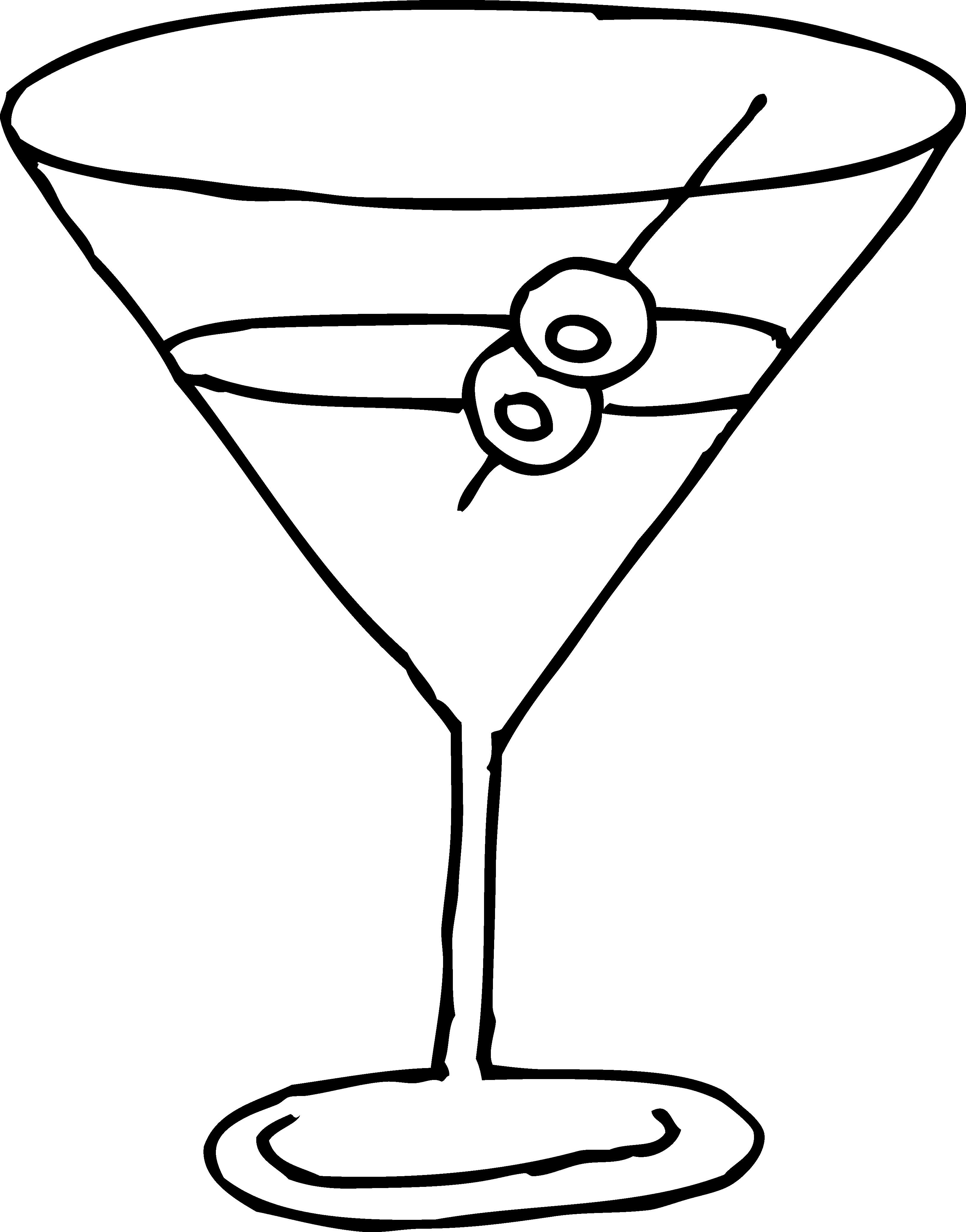 Drinking glass black and. Clipart glasses lemonade