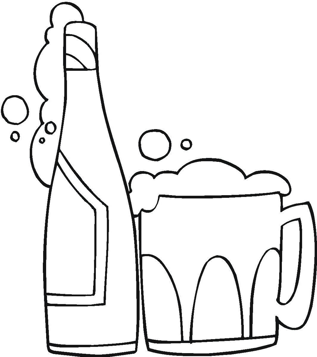 Alcohol clipart black and white. Best hd cdr vector