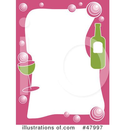 Stationery illustration by prawny. Drinks clipart border