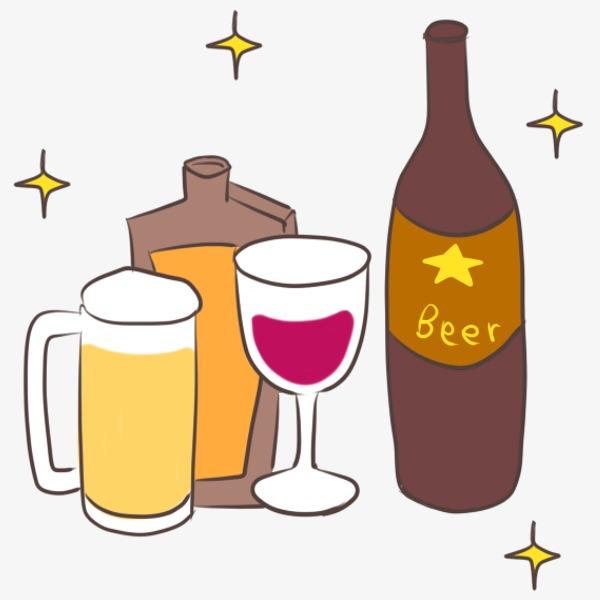 Glass festival draft bottle. Beer clipart beer wine