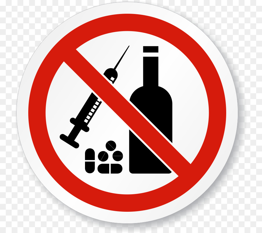 No and drugs substance. Alcohol clipart drug use