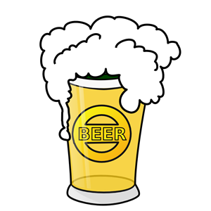 Beer glass cliparts of. Alcohol clipart liqour