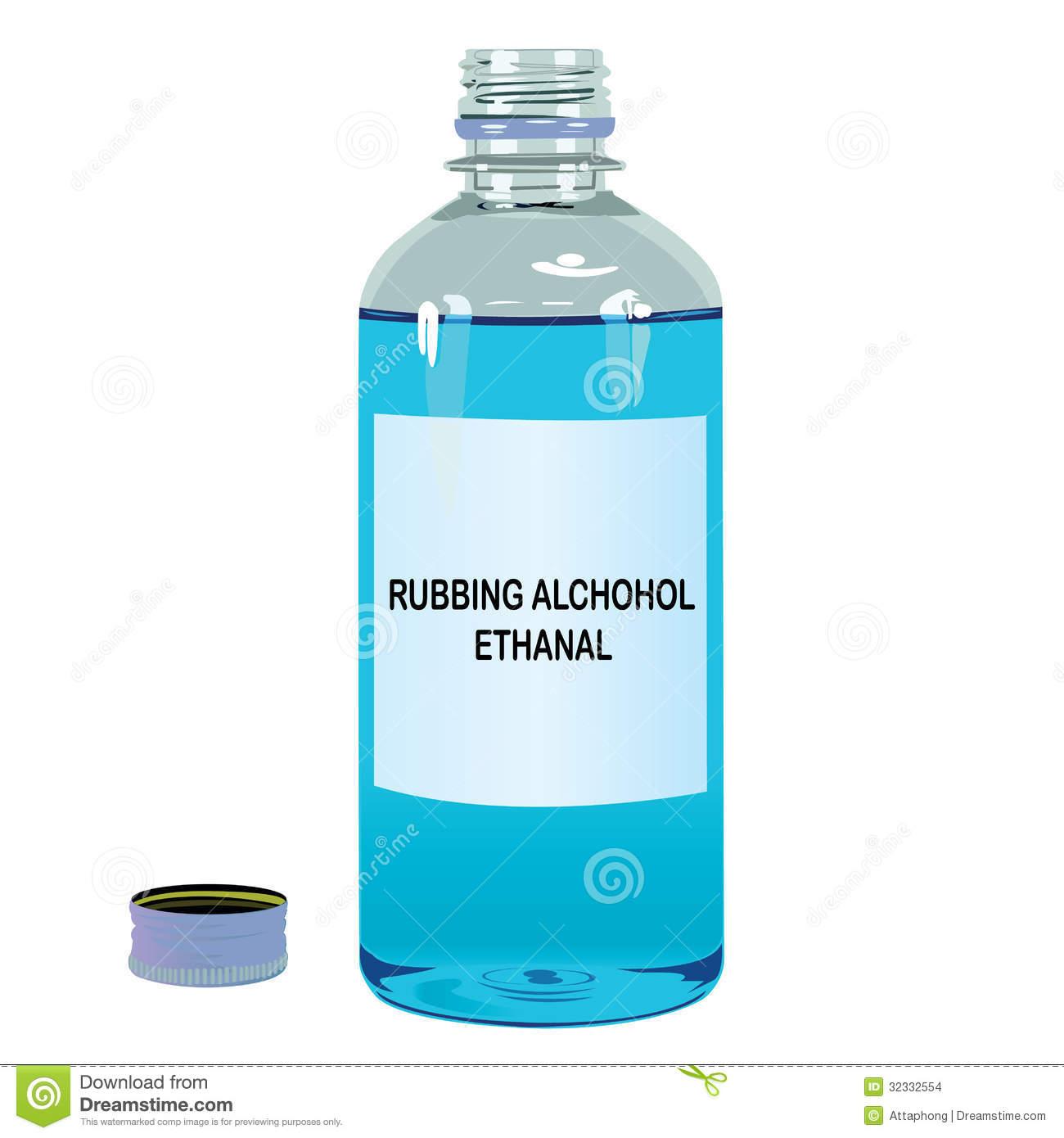 Rubbing . Alcohol clipart medical