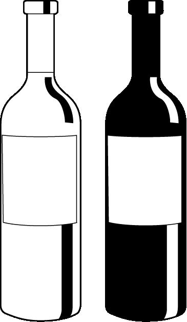 Znalezione obrazy dla zapytania. Wine bottle silhouette png