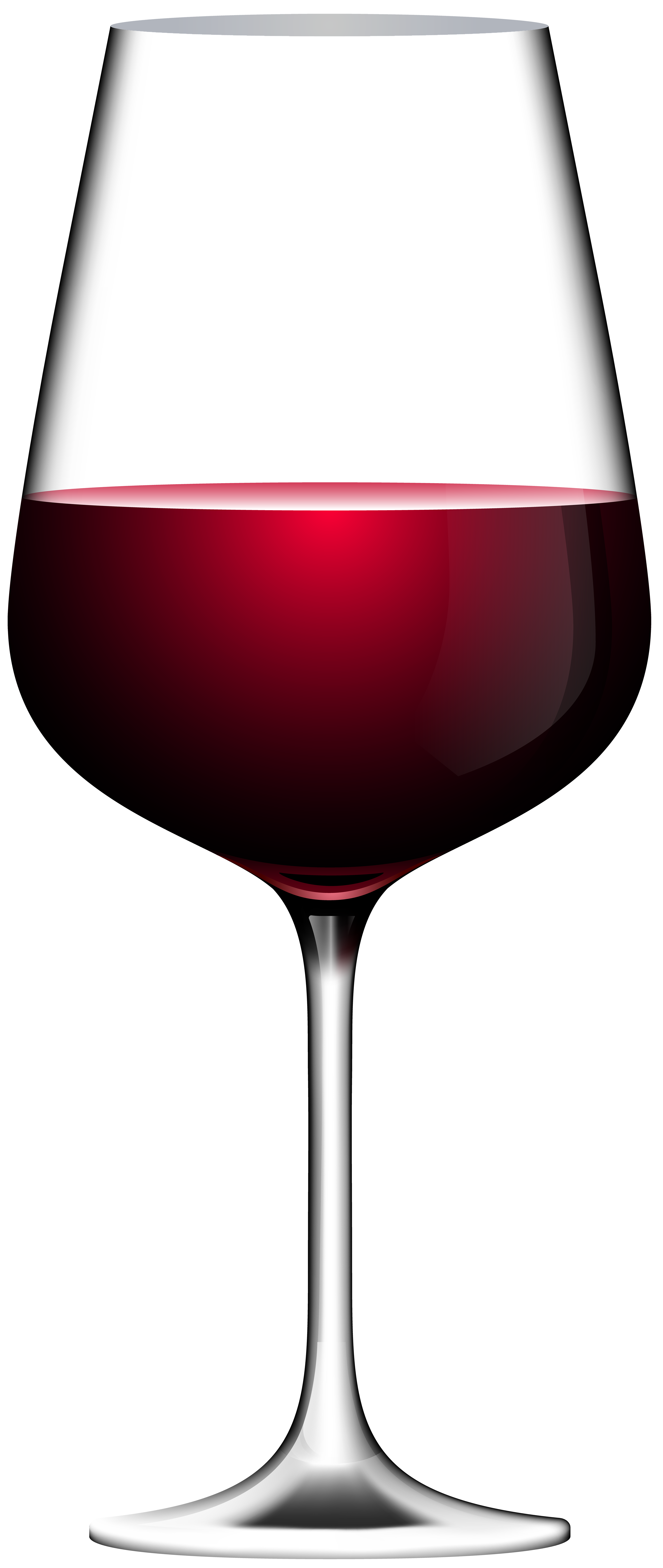 Red glass transparent clip. Clipart heart wine