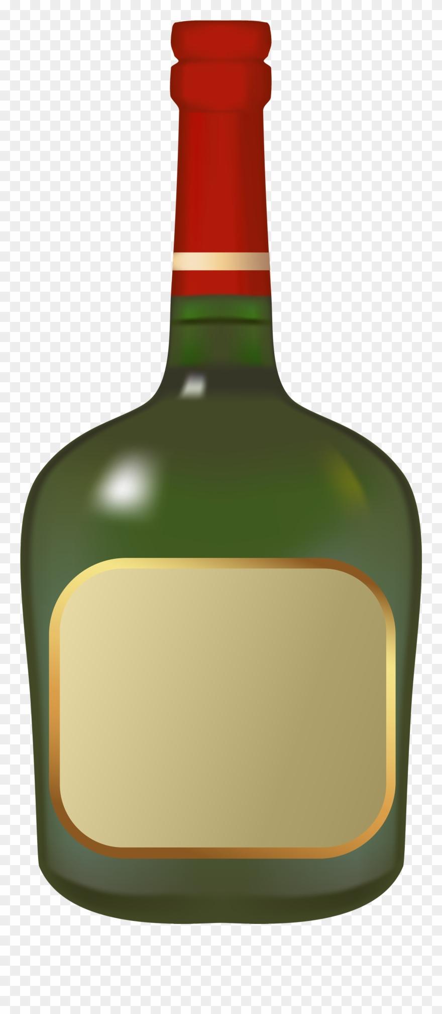 Liquor bottle png cartoon. Drink clipart spirit alcohol
