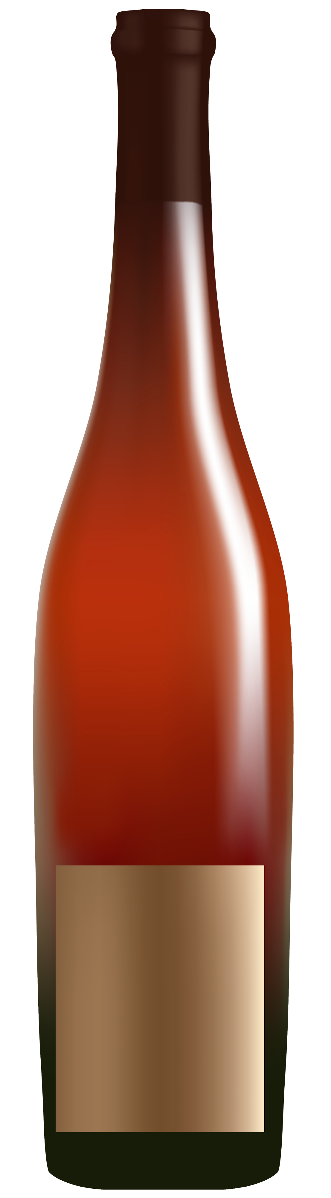 Red clipart best web. Alcohol bottle png