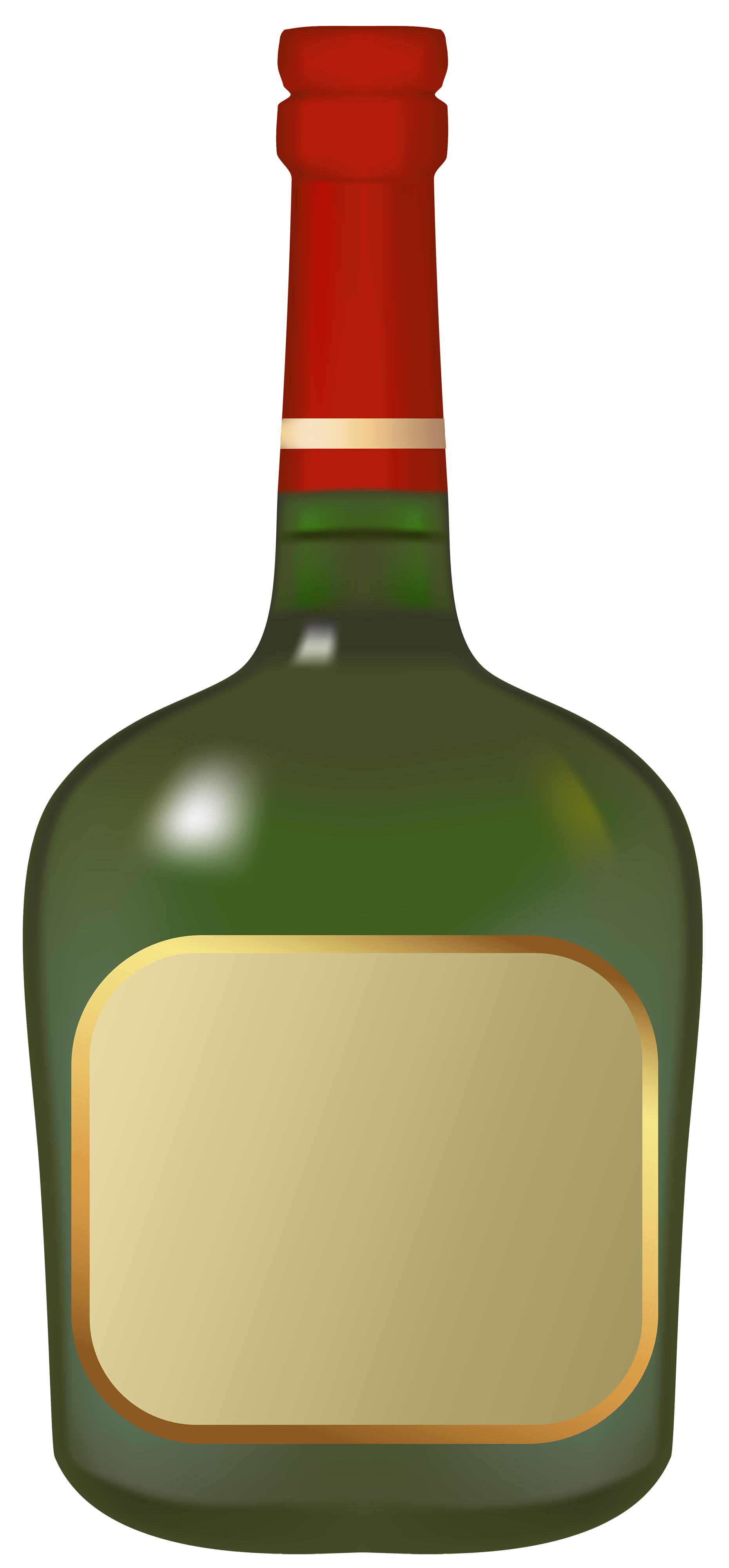 Italian clipart item. Liquor bottle png best