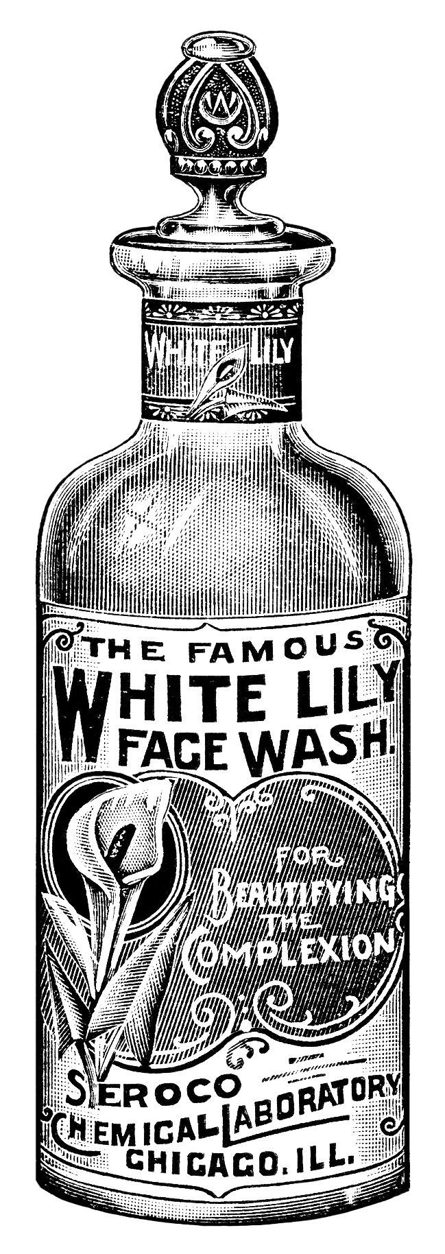 Vintage labels pinterest. Beauty clipart black and white
