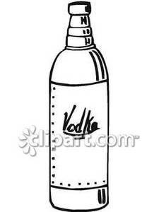 Alcohol clipart vodka bottle. Common of royalty free