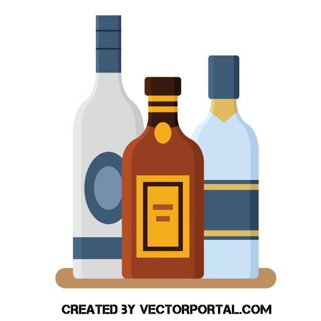 Alcohol clipart vodka bottle. Pin on food and