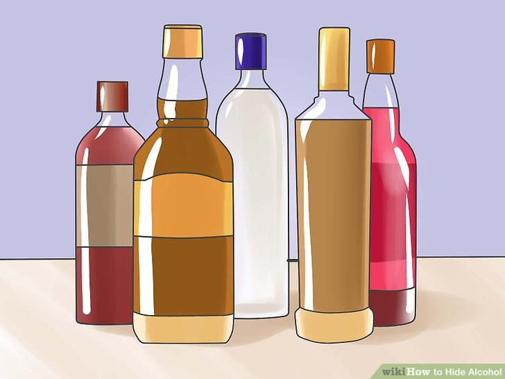 ways to hide. Alcohol clipart vodka bottle