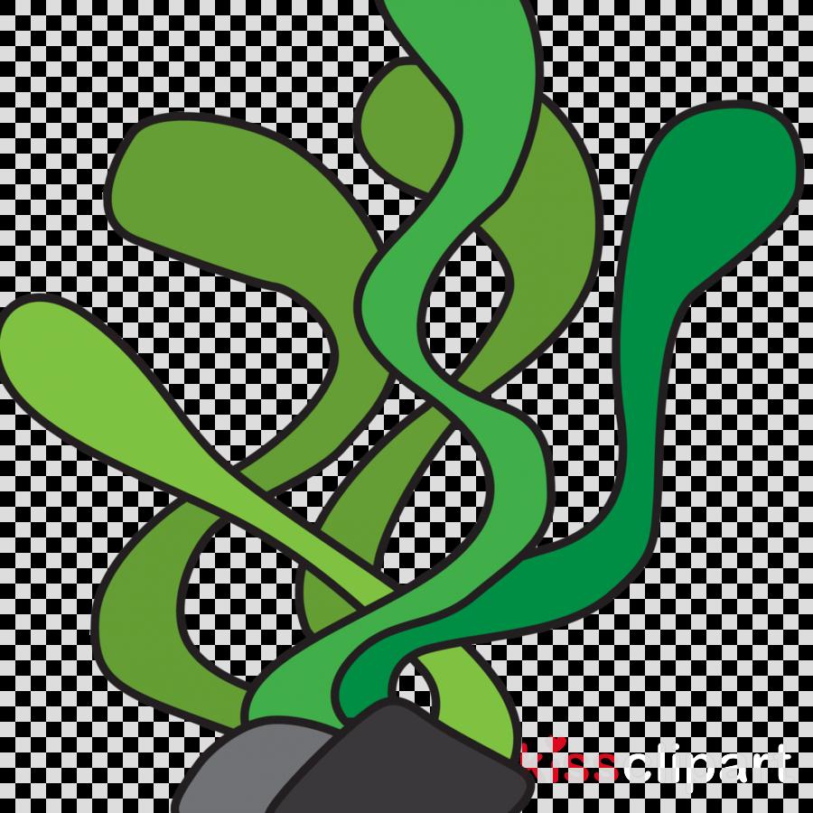 Algae clipart flower. Line art seaweed green