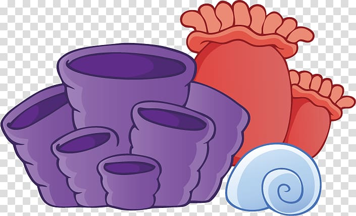 Algae clipart under sea. Purple and pink container