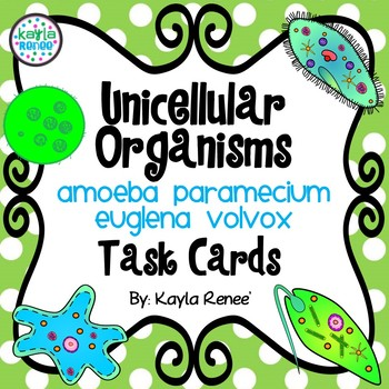 Algae clipart unicellular organism. Teaching resources teachers pay