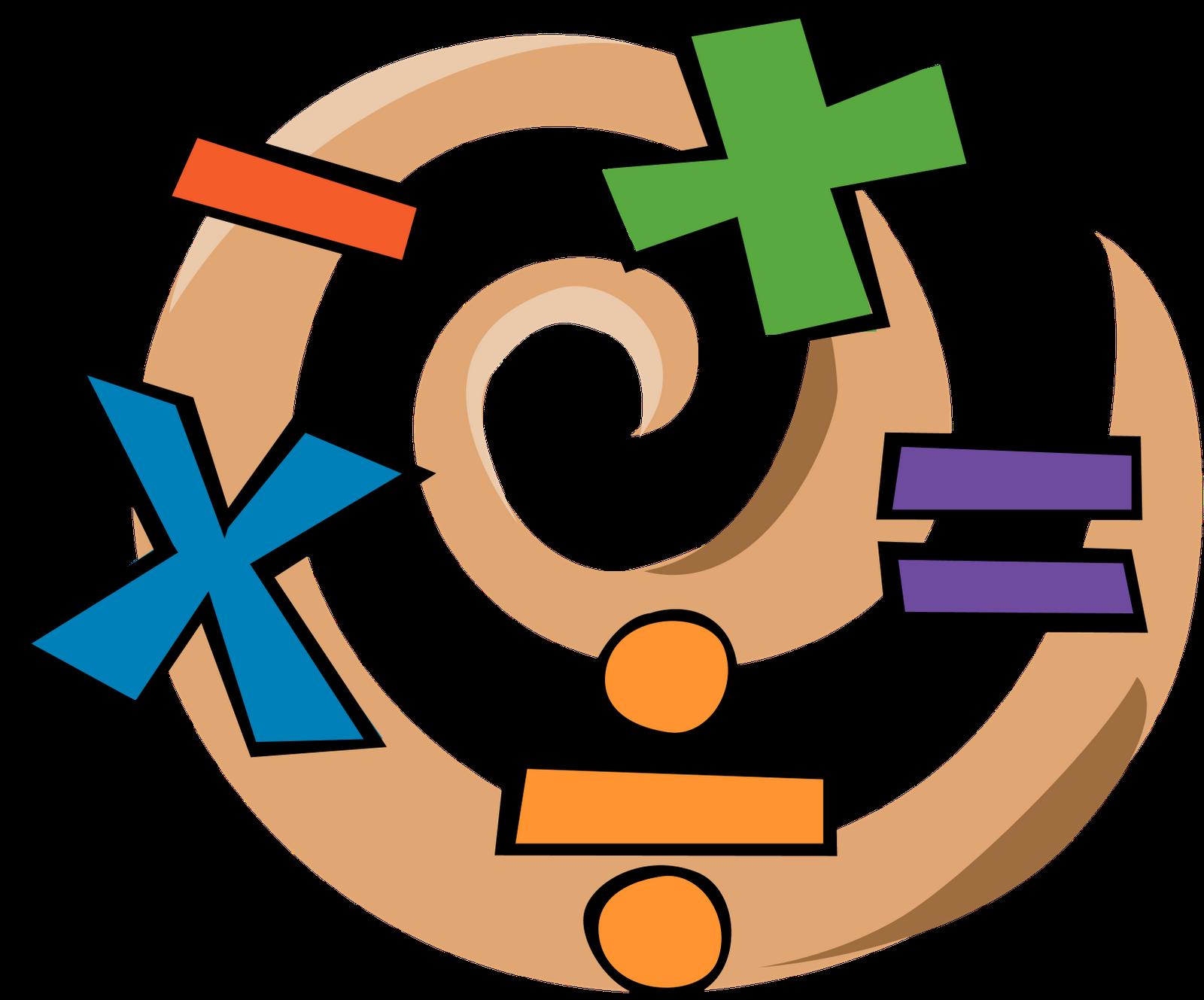 Algebra clipart. Symbols