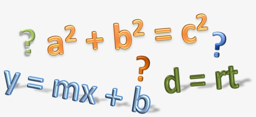 Ell of math equations. Algebra clipart transparent