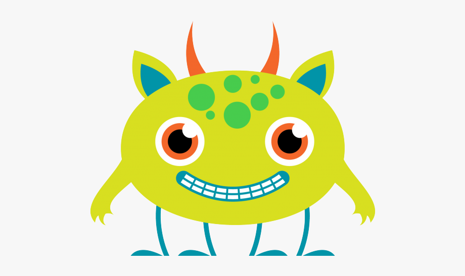 Alien clipart. Lime green trick or