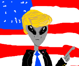 Alien clipart alein. Evil station