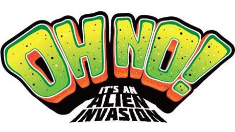 Oh no it s. Alien clipart alien invasion