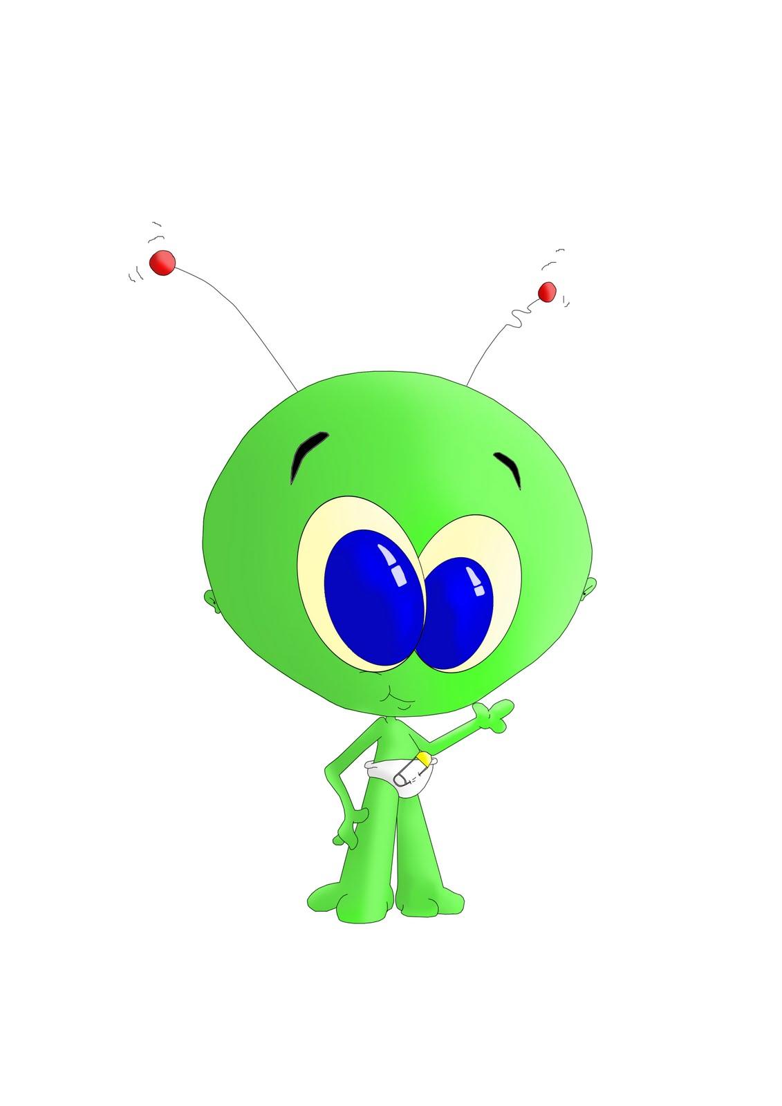 Aliens clipart baby. Free cute alien pics