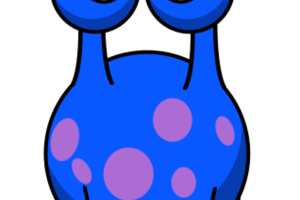 Bird images station related. Blue clipart alien
