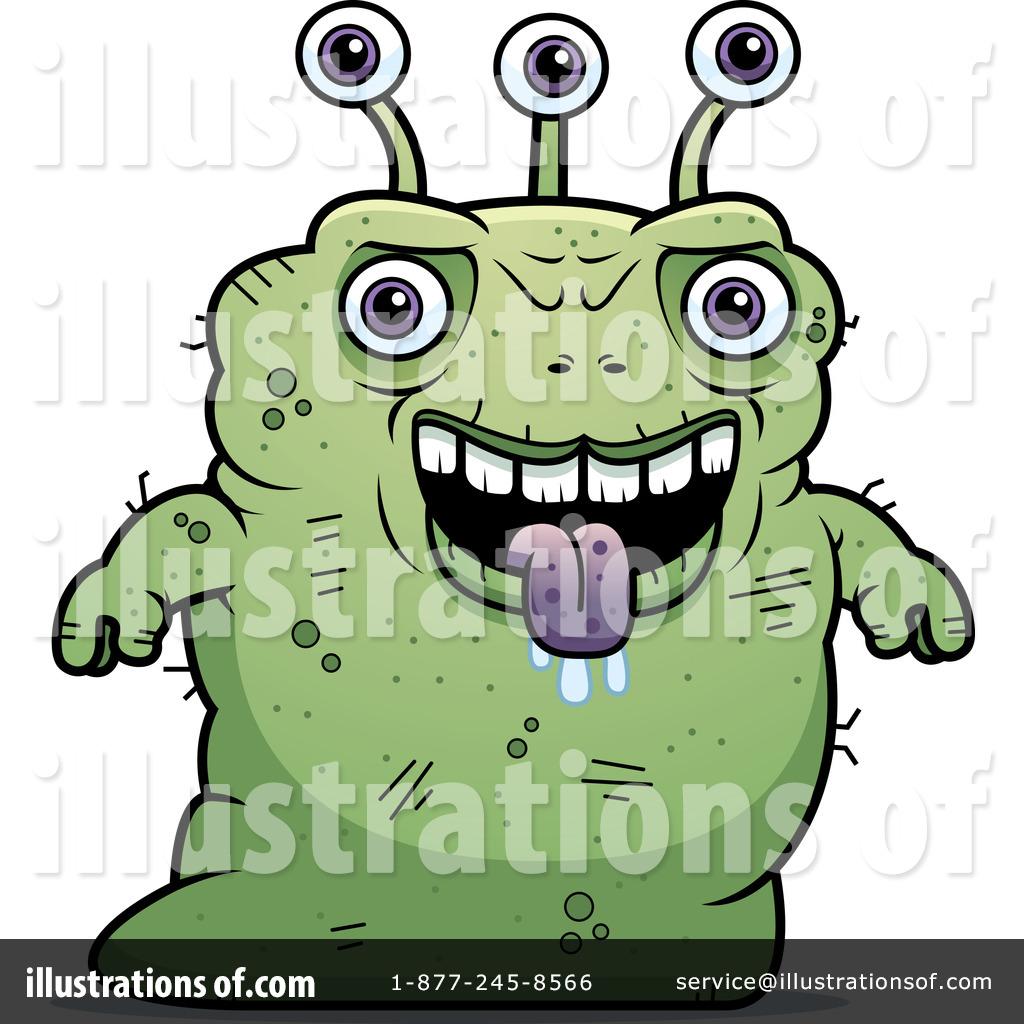 Alien clipart cartoon. Illustration by cory thoman