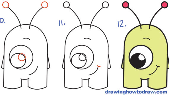 Simple spaceship drawing at. Alien clipart easy