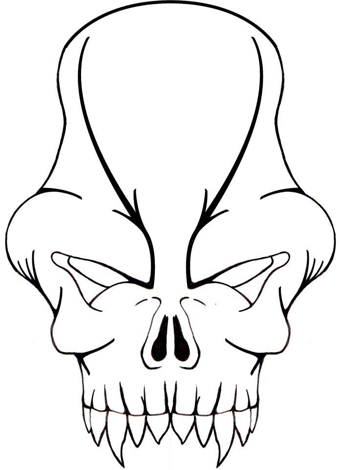 Alien clipart easy. Simple drawing at getdrawings