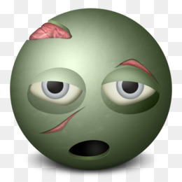 Zombie png and psd. Alien clipart eye