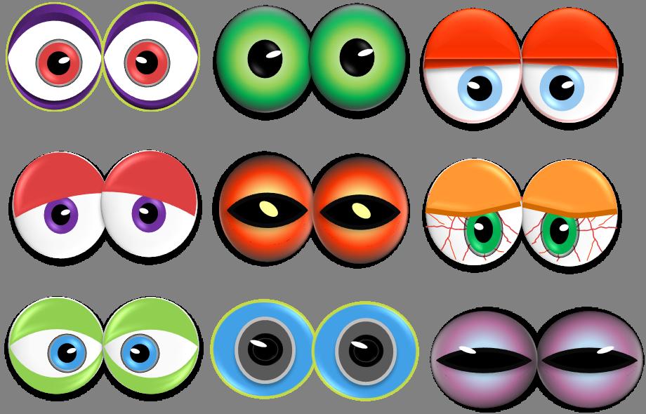 Clipart car eye. Monster eyes