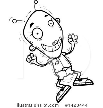 Alien clipart female. Illustration by cory thoman