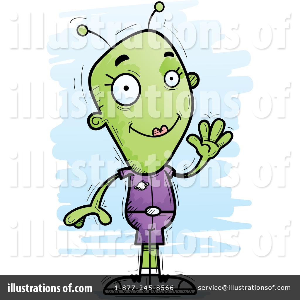Illustration by cory thoman. Alien clipart female
