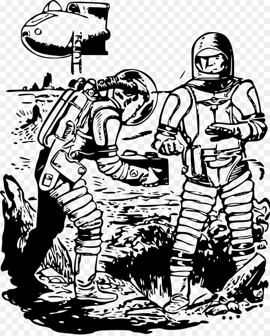 Spacecraft science fiction clip. Alien clipart fictional