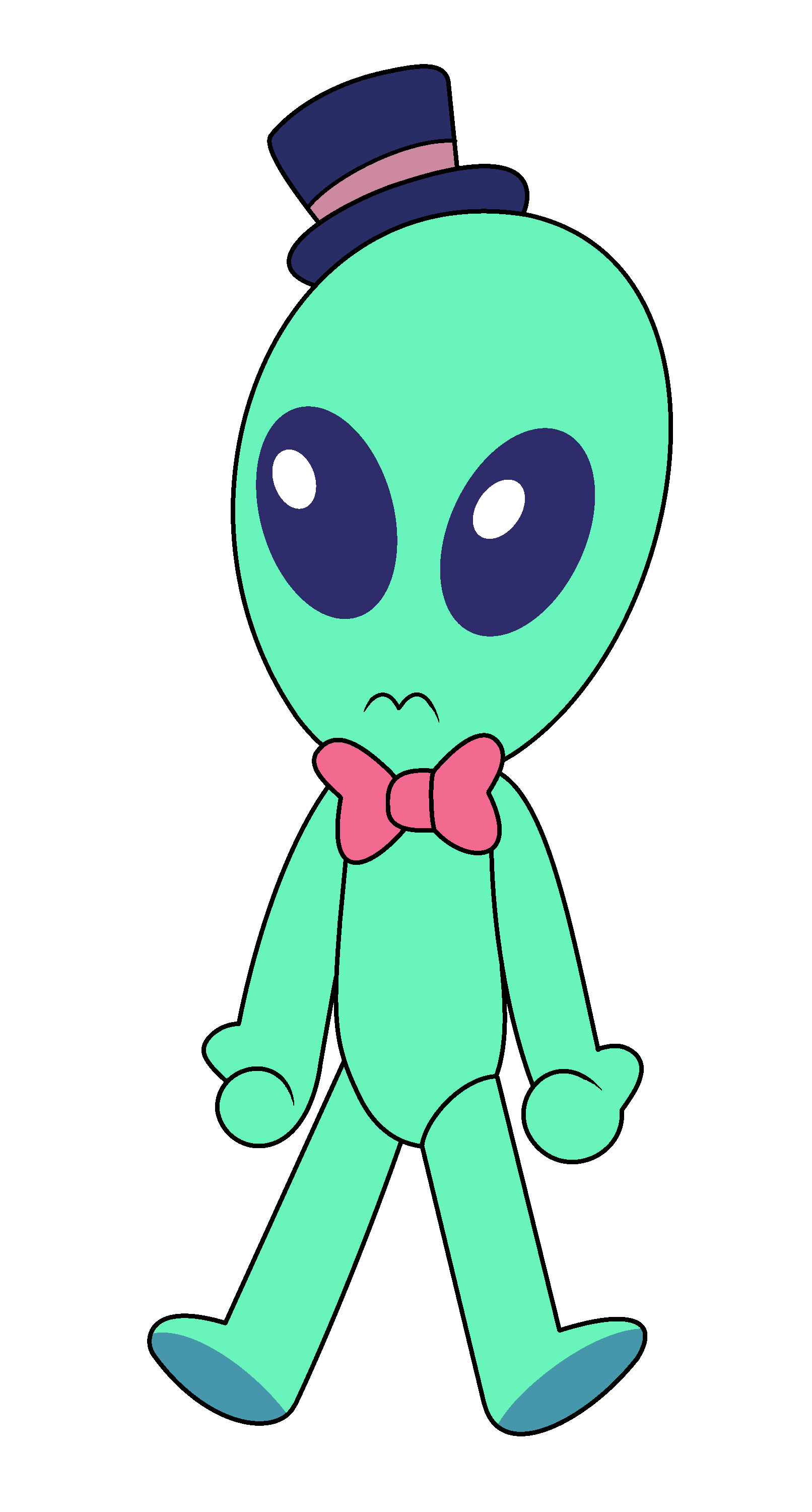 Cliparts for free and. Alien clipart fictional