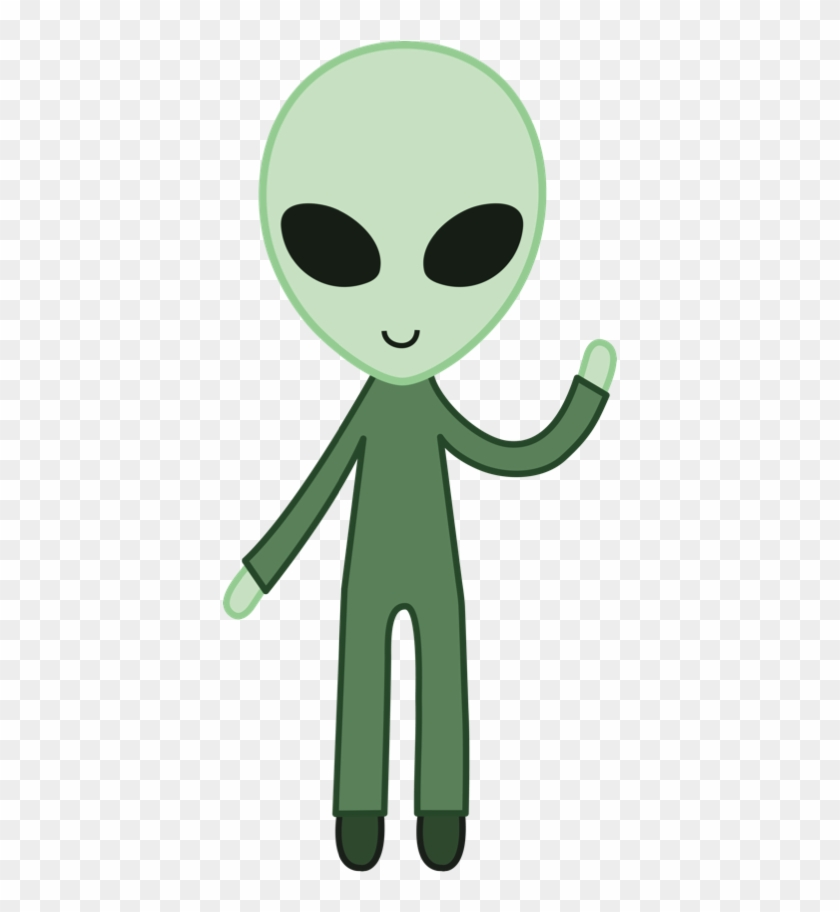 Ema focused on abduction. Alien clipart friendly
