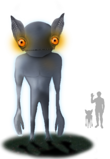 Kelly hopkinsville encounter wikipedia. Alien clipart goblin