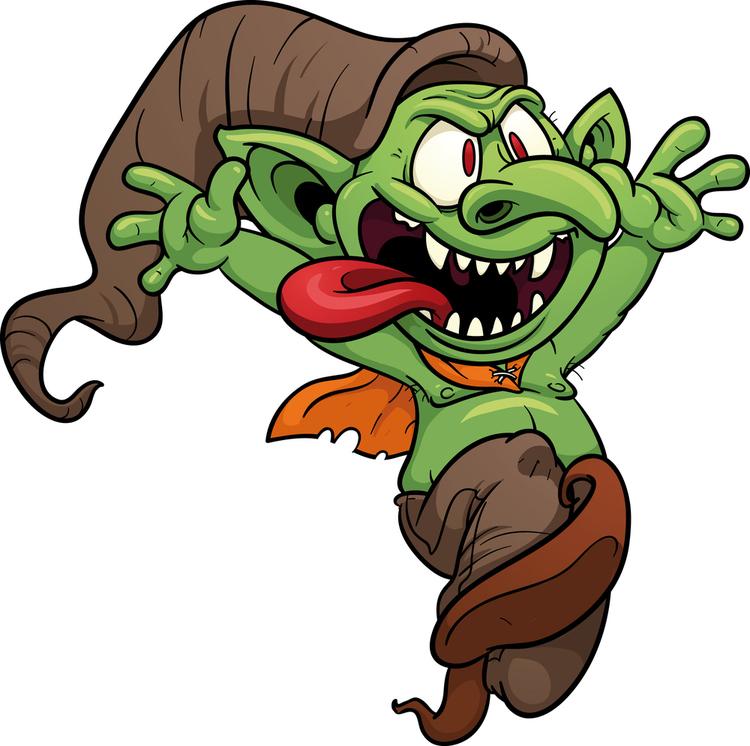Alien clipart goblin. Jared unzipped what s
