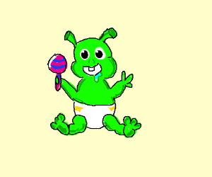 Alien clipart goblin. Baby