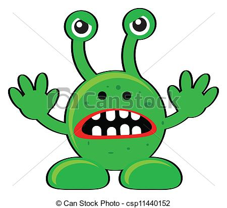. Aliens clipart angry alien